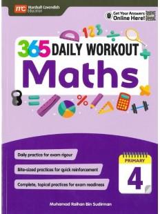 365 Daily Workout Maths P4