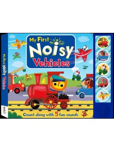 5 BUTTON Sounds My First Noisy Vehicles