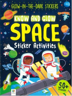 Glow in the Dark Jingsaw and Book Exploring Space