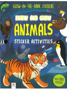 KNOW AND GLOW ANIMALS STICKER ACTIVITIES