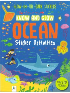 KNOW AND GLOW OCEAN STICKER ACTIVITIES