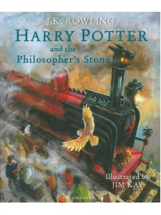 Harry Potter and the Philosopher's Stone: Illustrated Edition Hardcover