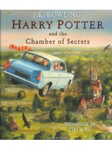 Harry Potter and the Chamber of Secrets: Illustrated Edition Hardcover