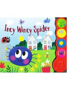 Incy Wincy Spider- Sound Book