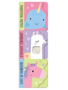 Adorable Animals, Counting Cuties and Rainbow of Love (Stack of 3)