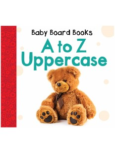 Baby Board Books: A to Z Uppercase