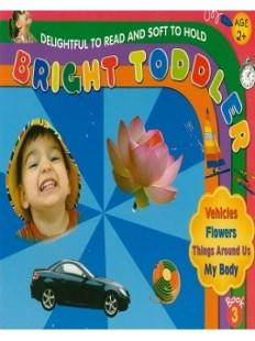 Bright Toddler: Vehicles, Flowers, Things Around Us, My Body