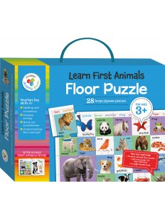 Building Blocks Bright and Bold Floor Puzzle: My First Animals