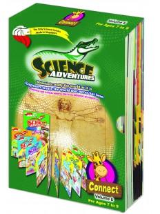 SCIENCE ADVENTURE CONNECT 2018 Vol 6 BOX SET