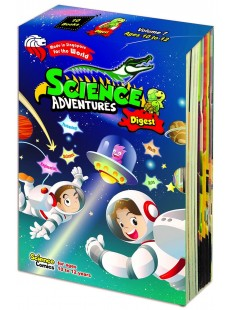 SCIENCE ADVENTURE DIGEST 2019 Vol 7 BOX SET