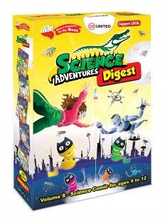 SCIENCE ADVENTURE DIGEST 2020 Vol 8 BOX SET