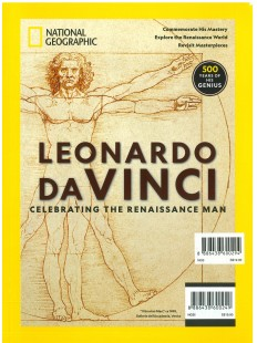 Leonardo Davinci celebrating the Renaissance man