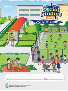 Social Studies Activity Book 1 NEW!