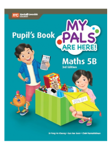 My Pals are Here ! Maths Pupil's Book 5B