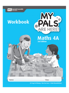 My Pals Are Here ! Maths Workbook 4A (3E)