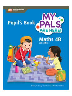 My Pals are Here ! Maths Pupil's Book 4B