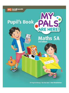 My Pals are Here ! Maths Pupil's Book 5A
