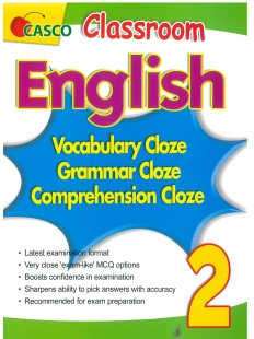 Classroom English Vocab/Grammar/ Comprehension Cloze 2