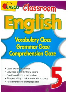 Classroom English Vocab/Grammar/ Comprehension Cloze 5