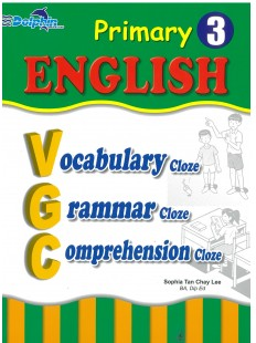 Primary 3 English Vocabulary, Grammar, Comprehension Cloze