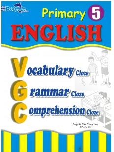 Primary 5 English Vocabulary, Grammar, Comprehension Cloze