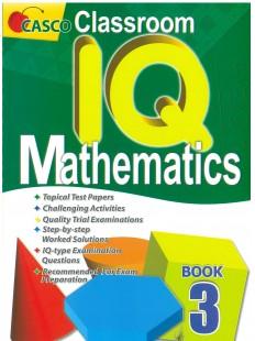 Classroom IQ Mathematics Primary 3